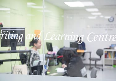 Writing and Learning Centre, Alexander College
