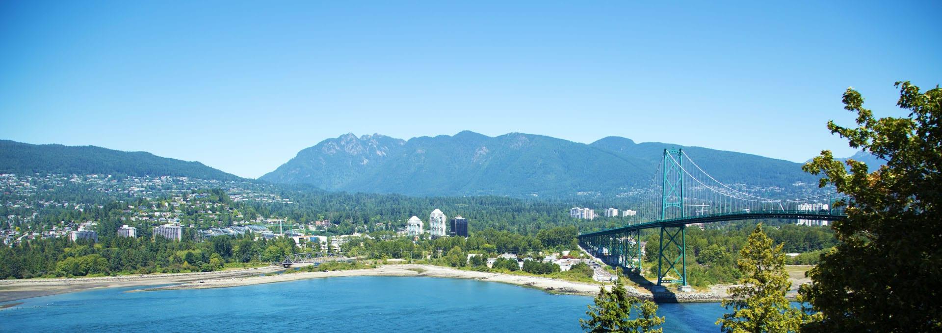 Horizon of Beautiful British Columbia