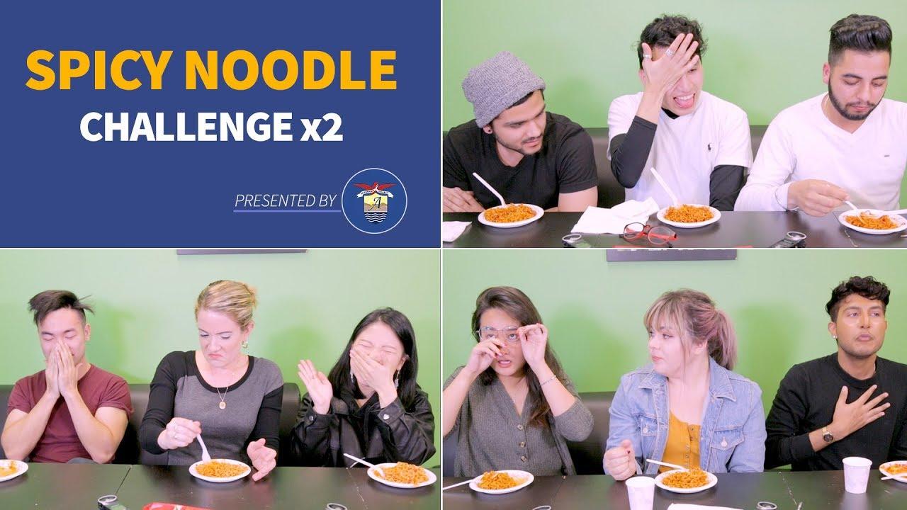 Spicy Noodle Challenge x2, Alexander College