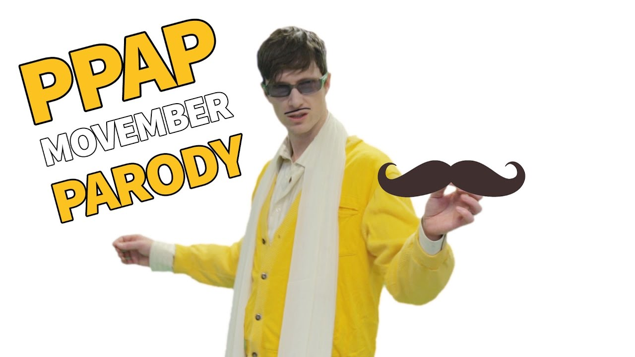 PIKOTARO - PPAP (Pen Pineapple Apple Pen) Movember Parody