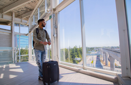 International Student Arrive in Canada