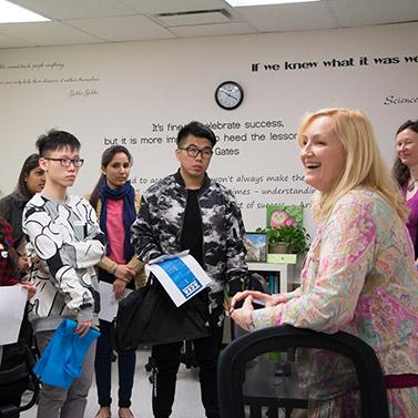 New Student Orientation at Alexander College