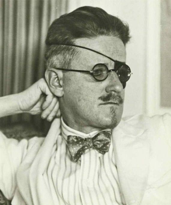 James Joyce eyepatch