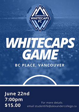 Vancouver White Caps Soccer Match Tickets 22/06/19