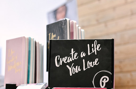 Create a Life Your Love Notebook Art