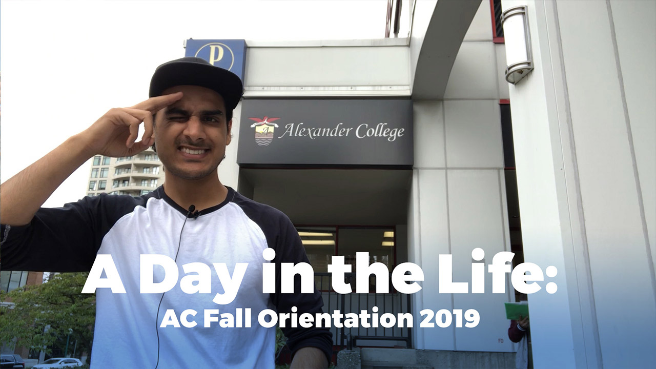 New Student Orientation 2019, Alexander College