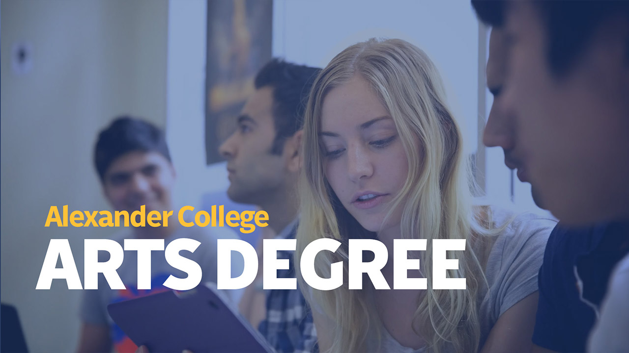 Associate Degree, Alexander College