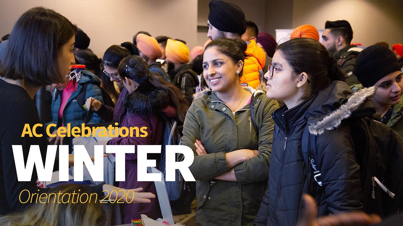 Winter Orientation at Alexander College