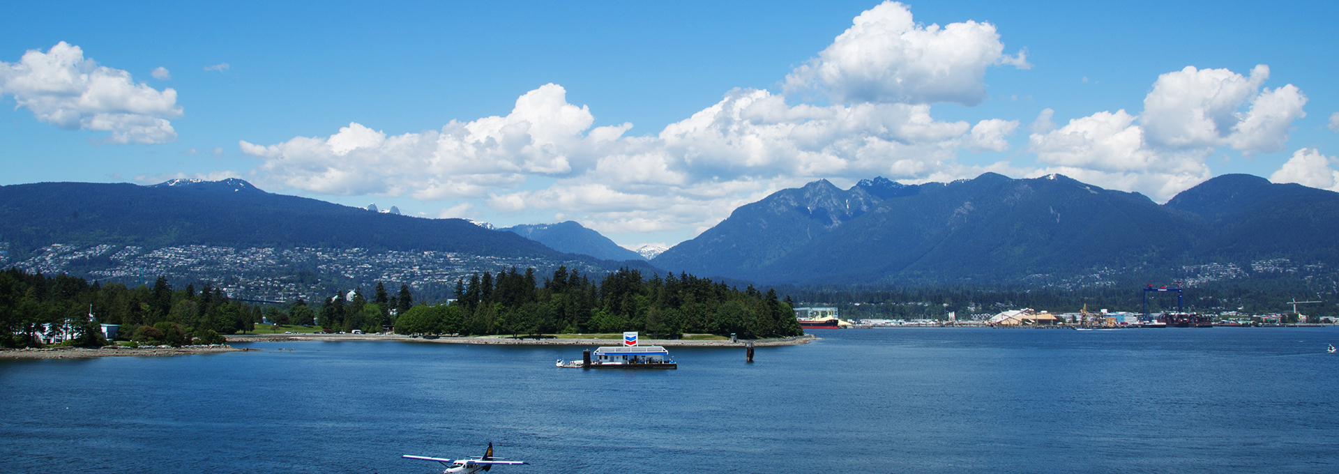 Horizon of Vancouver Stanley Park