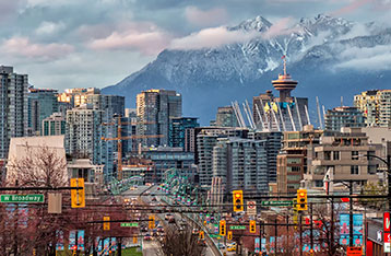 beautiful view of vancouver canada