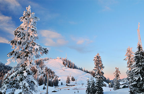 Beautiful British Columbia in Winter