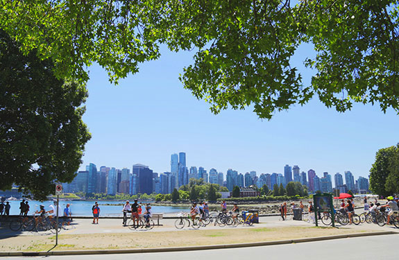 Sunny Day at Stanley Park Vancouver
