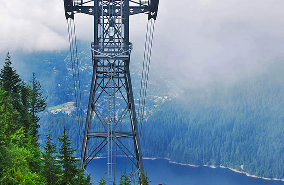 Grouse Mountain in British Columbia Canada