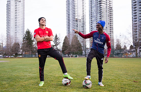 play soccer in vancouver