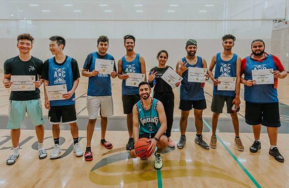 alexander college Explorers Basketball team