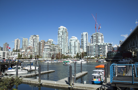 downtown vancouver scenery